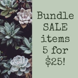 Reduced! Items marked w/💥under $10 are 5 for $20!